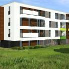 Budynek mieszkalny w Sadach
